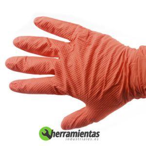 1051GL2003 - Guantes de nitrilo dimantados Auto Tecnik 90-100 guantes