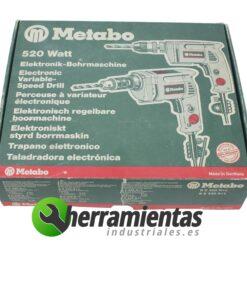 Taladro Metabo electrónico BE 530 R +L