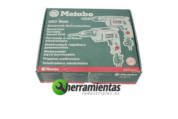 Taladro Metabo electrónico BE 530 R +L