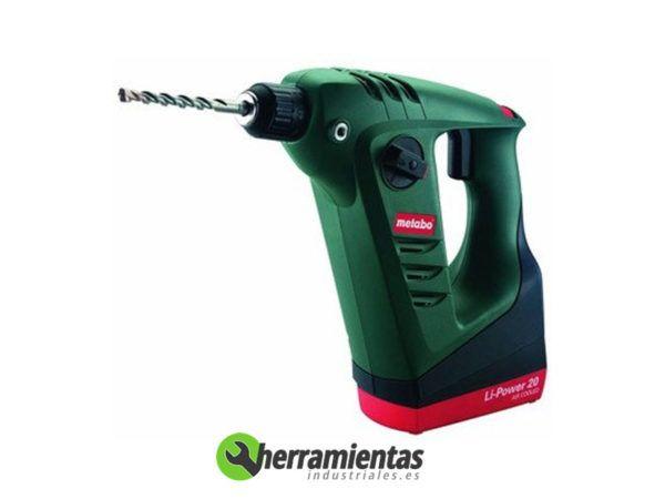 068HE60021950 – Martillo Metabo BHA 18 Li + Maletín plástico
