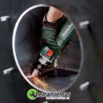 068HE60061500(2) – Amoladora recta Metabo GE 710 Compact