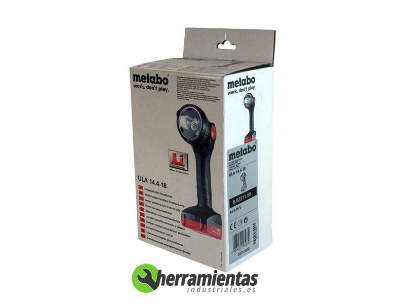 068HE60231100 – Lampara ULA 14.4-18 Metabo Air Cool
