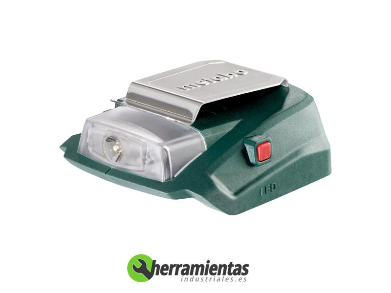 068RM00288 – Lintera + cargador Metabo PA 14.4-18 Led-USB