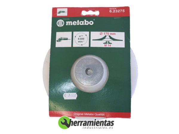 068RM23275 – Plato de apoyo elástico Metabo 23275