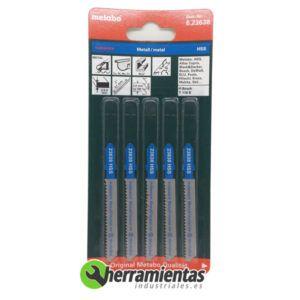 068RM23638 – Hojas de sierra de calar Metal (5uds) Metabo 23638
