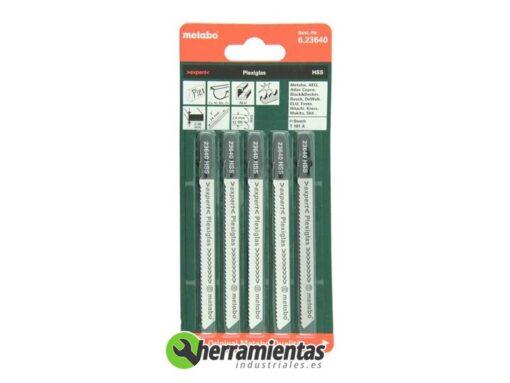 068RM23640 – Hojas de sierra de calar Plexiglas Metabo 23640