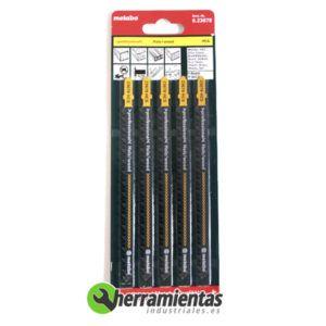 068RM23678 – Hojas de sierra de calar Madera (5uds) Metabo 23678