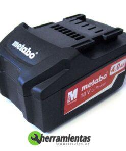 068RM25591 – Batería Metabo 18V 4,0Ah 25591