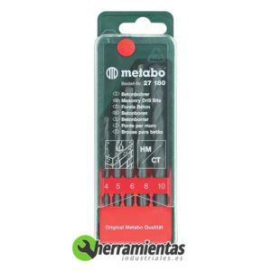 068RM27180 – Juego de 5 brocas Metabo