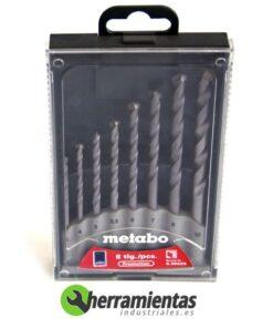 068RM30429 – Juego de 8 brocas Metabo 30429