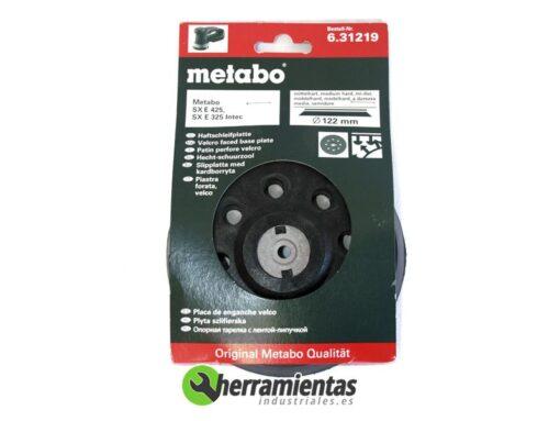068RM31219 – Placa de enganche de velcro Metabo 31219
