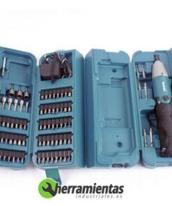 082HE6722DW(2) – Atornillador Makita 6722DW + Maletín plástico