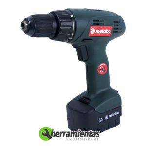 068HE6200100 – Atornillador Metabo BST 12 Euro + Maletín plástico