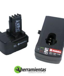 068HE6200100(2) – Atornillador Metabo BST 12 Euro + Maletín plástico