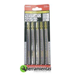 068RM23677 – Hojas de sierra de calar Madera (5uds) Metabo 23677