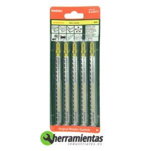 068RM23977 – Hojas de sierra de calar Madera (5uds) Metabo 23977