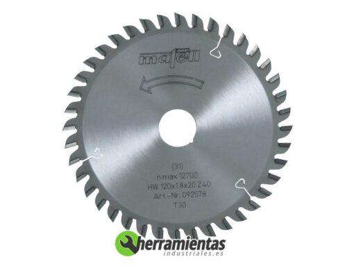 909M092578 – Hoja de Sierra Mafell HM 092578