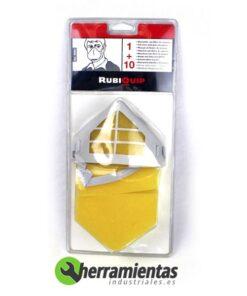 387032070420 – Mascarilla con filtro de espuma Rubi 80901