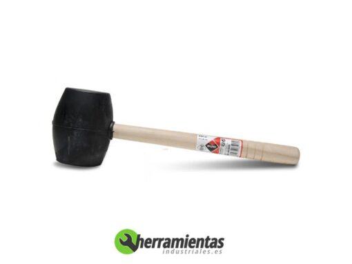 389HM65905 – Maza de goma Rubi cara planas 65095
