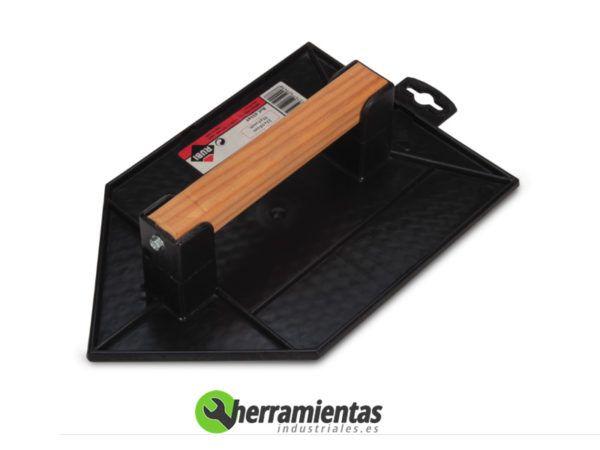 389HM65949 – Talochas de plástico Rubi con mango de madera 65949