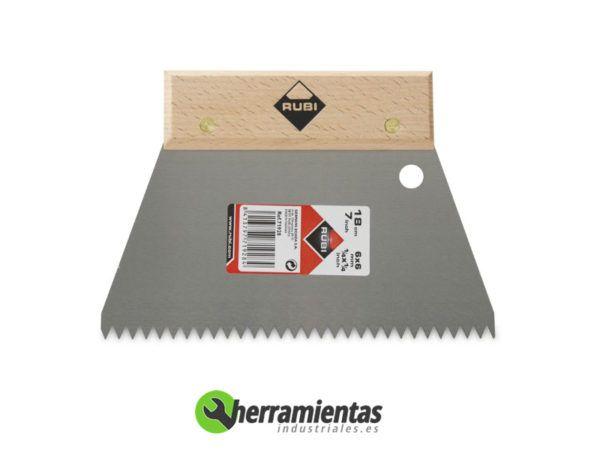 389HM71928 – Espatula mango madera Rubi 71928