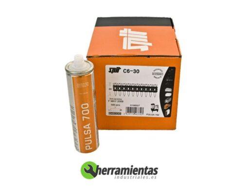 770HM046330 – Clavos Pulsa Spit C6-30 + Gas 046330