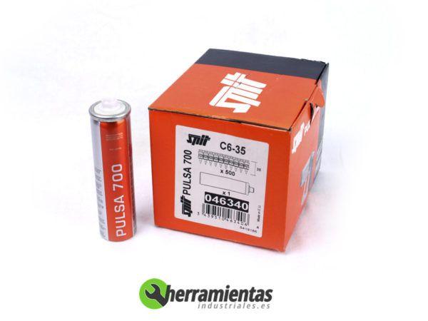 770HM046340 – Clavos Pulsa Spit C6-35 + Gas 046340