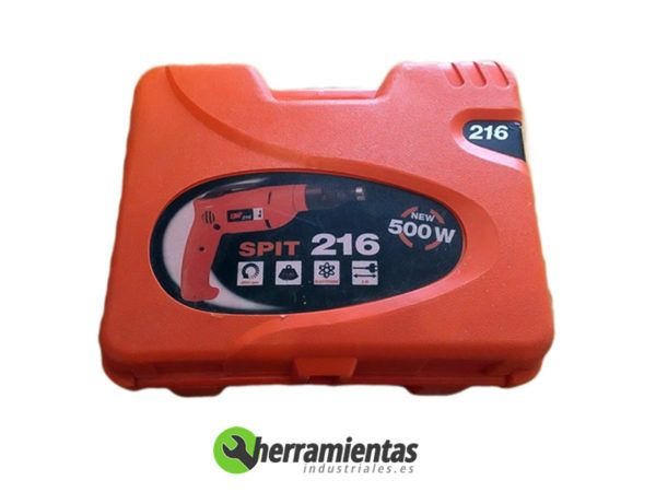 770HM010101(2) – Atornillador Spit 216 + Maletín plástico 010101