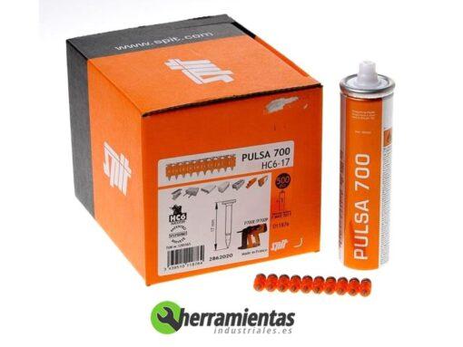 770HM011876 – Caja de clavos SPIT HC6-17 + Gas 011876