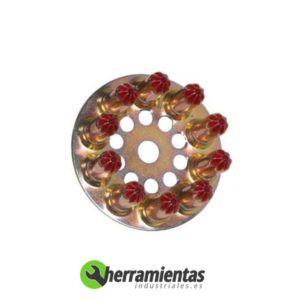 770HM031220 – Disco de cargas Spit 6.3-16 013220 Rojas muy fuerte