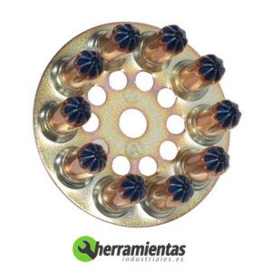 770HM031230 Disco de cargas Spit 6.3-16 031230 Azul fuerte
