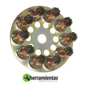 770HM031600 Disco de cargas Spit 6.3-10 031600 Verde debil