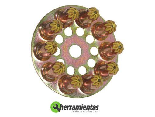 770HM031700 – Disco de cargas Spit 6.3-10 031700 Amarillas medias