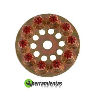 770HM031710 – Disco de cargas Spit 6.3-12 031710 Rojas