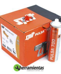 770HM053213 – Caja de clavos roscados Spit THC6-6-21 + Gas 053213