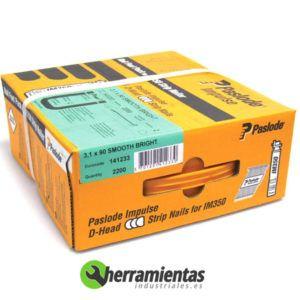 770HM141233 - Caja de clavos lisos Spit 3,1x90 + Gas 141233