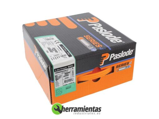 770HM142016 – Caja de clavos anillados Spit 2,8×70 + Gas 142016