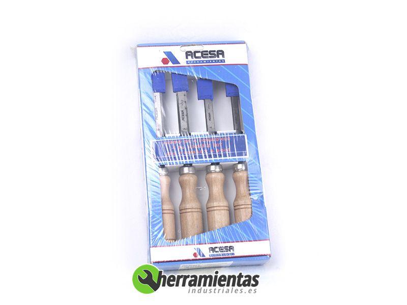 001H13529004A – Juego formones Acesa 10-12-15-20mm 1350