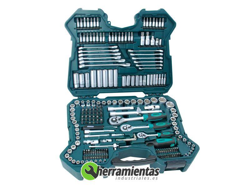 386M9840 – Juego de llaves de vaso Mannesmann 215 piezas