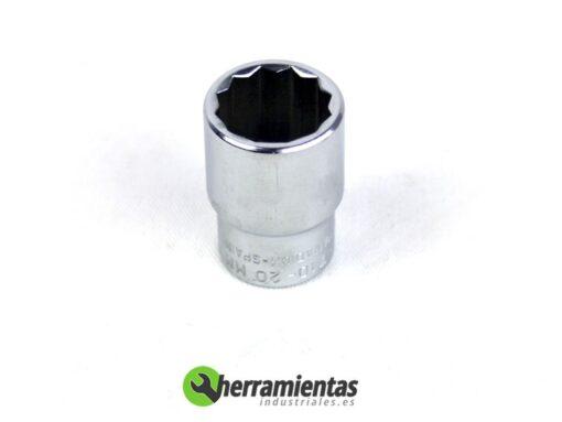 387001030727 – Vaso Acesa 1/2 pulgada 12 caras 20mm