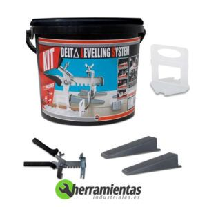 389HM02849 – Kit de nivelación Rubi Delta leveling system 02849