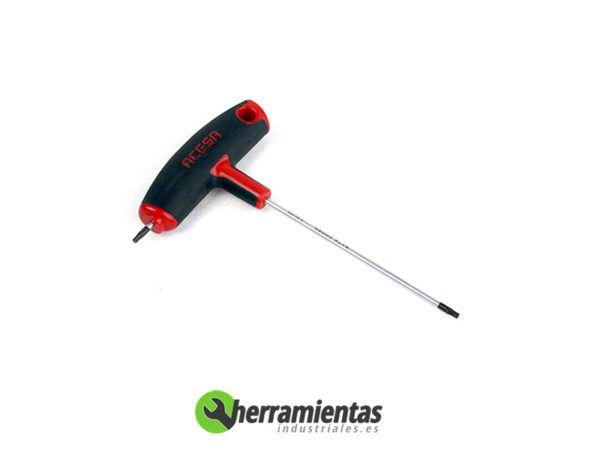 387001050612 - Llave Torx Acesa en T 9x100