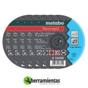 068DC16496 – Disco Novorapid Metabo 16496