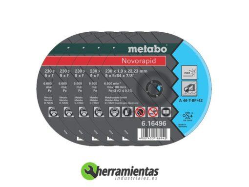 068DC16496 – Disco Novorapid Metabo 16496
