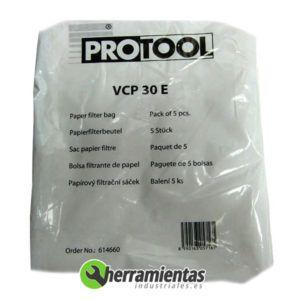 318TTS614660 – Bolsas aspirador Protool VCP30E