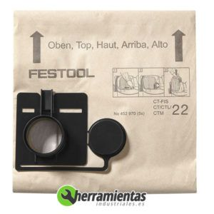 813TTS452970 – Bolsa filtrante Festool FIS-CT-22