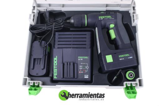 Atornillador Festool C-12 CE-MH45-Plus