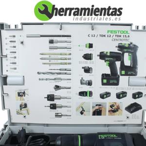 Brocas Atornillador Festool C-12 CE-MH45-Plus