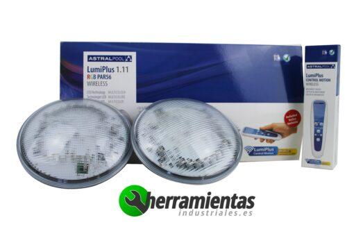 Pack 2 Lámparas LumiPlus 1.11 RGB PAR 56