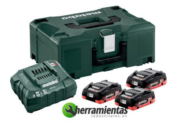 Conjunto de baterias